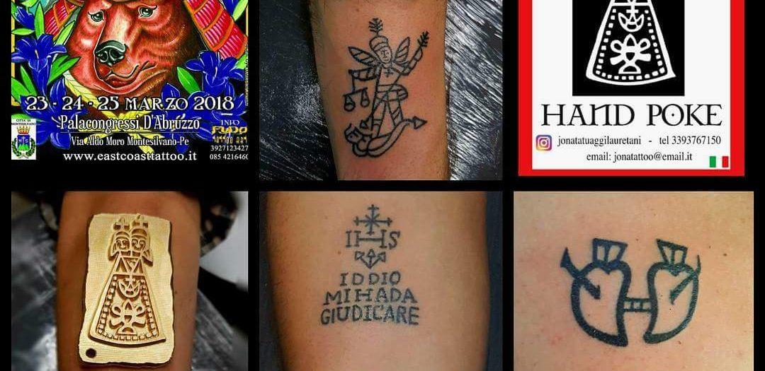 Gli antichi Tatuaggi Lauretani il 23/24/25 Marzo all'East Coast Tattoo Convention  MONTESILVANO  ABRUZZO