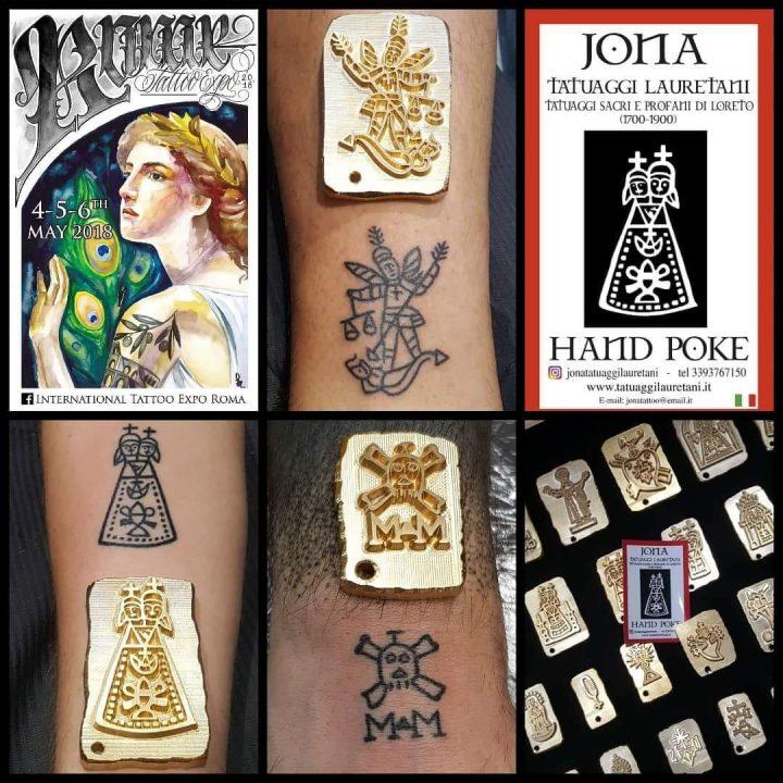 Il Tatuaggio Lauretano all' INTERNATIONAL TATTOO EXPO ROMA 2018