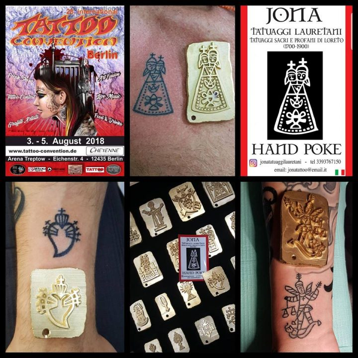 IL TATUAGGIO LAURETANO ALLA 28 INTERNATIONAL TATTOO CONVENTION BERLIN