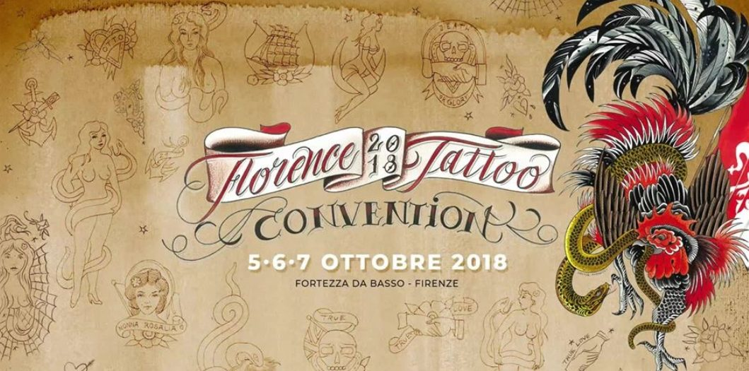 GLI ANTICHI  TATUAGGI LAURETANI ALLA FLORENCE TATTOO CONVENTION 2018