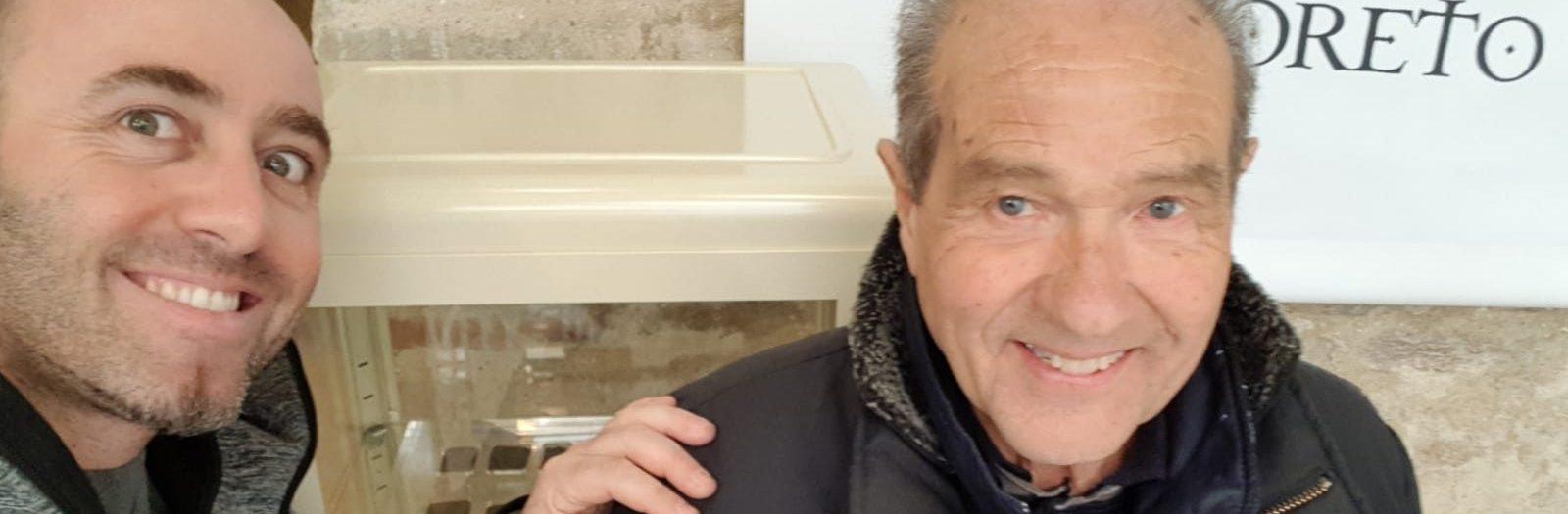 Gianfranco  racconta il nonno Leonardo Conditi, ultimo marcatore di Loreto
